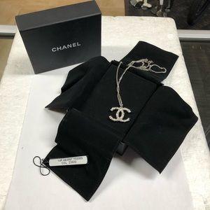 Chanel Coco CC Rhinestone A64887